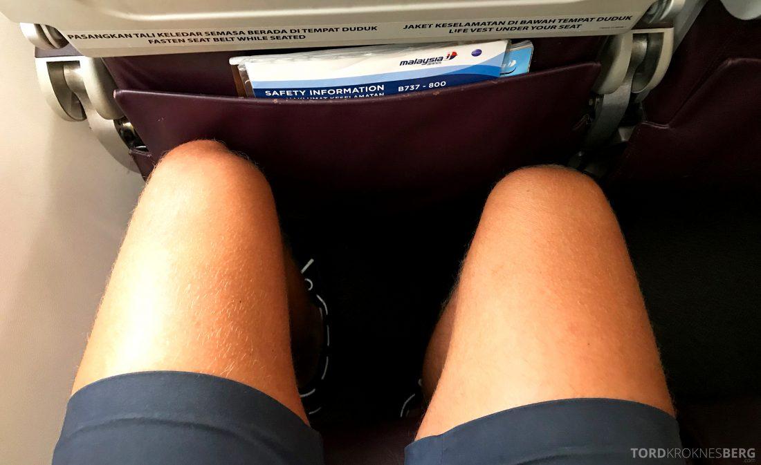 Malaysia Airlines Economy Class Singapore Kuala Lumpur benplass