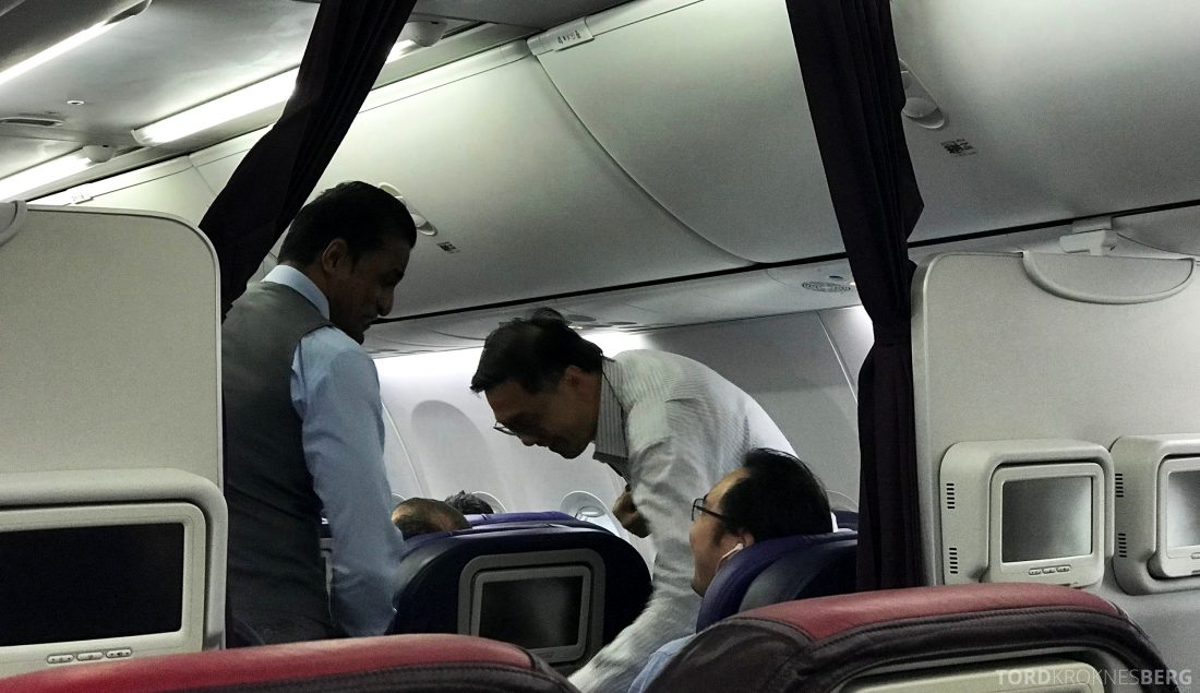 Malaysia Airlines Economy Class Singapore Kuala Lumpur velkomst business