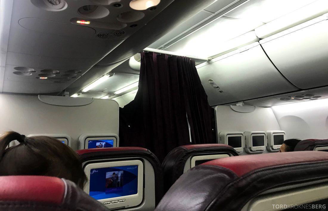 Malaysia Airlines Economy Class Singapore Kuala Lumpur forheng
