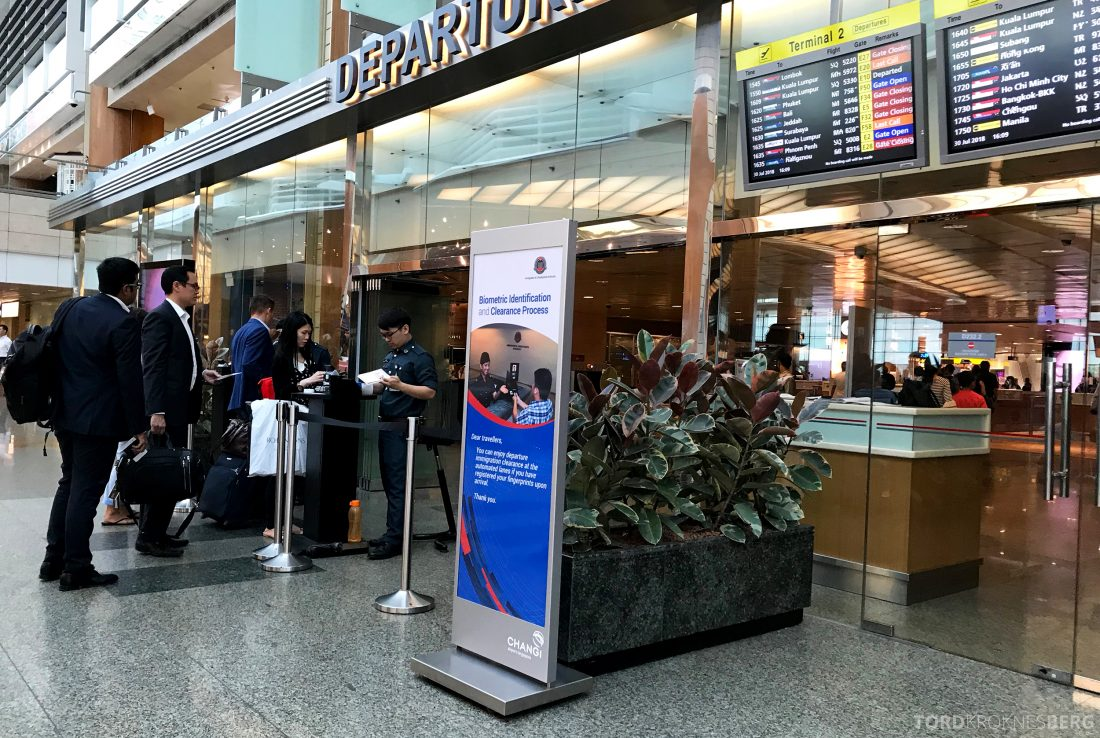 Malaysia Airlines Economy Class Singapore Kuala Lumpur fast track