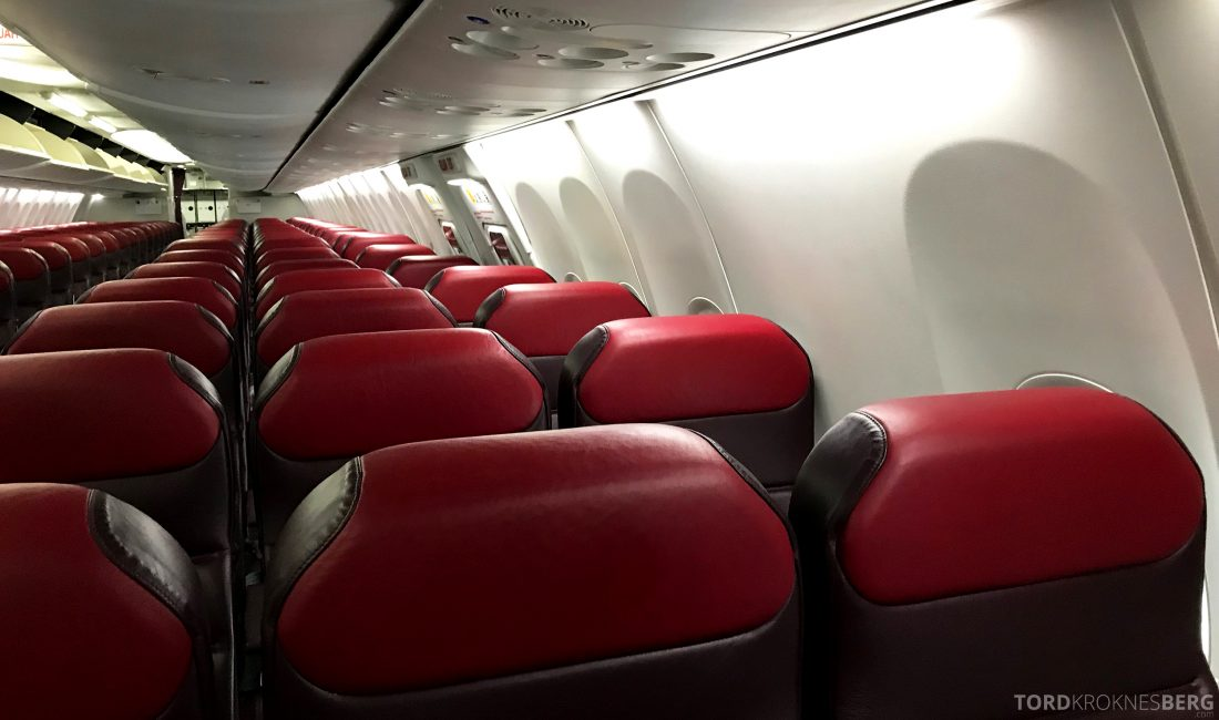 Malaysia Airlines Economy Class Singapore Kuala Lumpur kabin