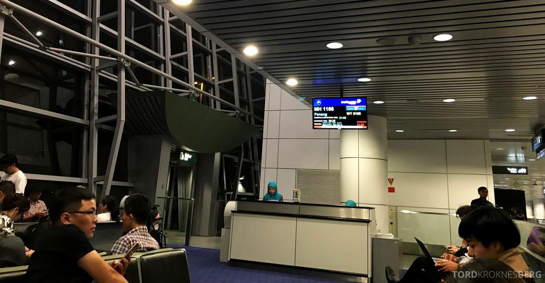 Malaysia Airlines Economy Class Kuala Lumpur Penang gate