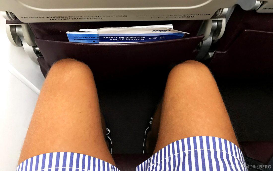 Malaysia Airlines Economy Class Kuala Lumpur Penang benplass