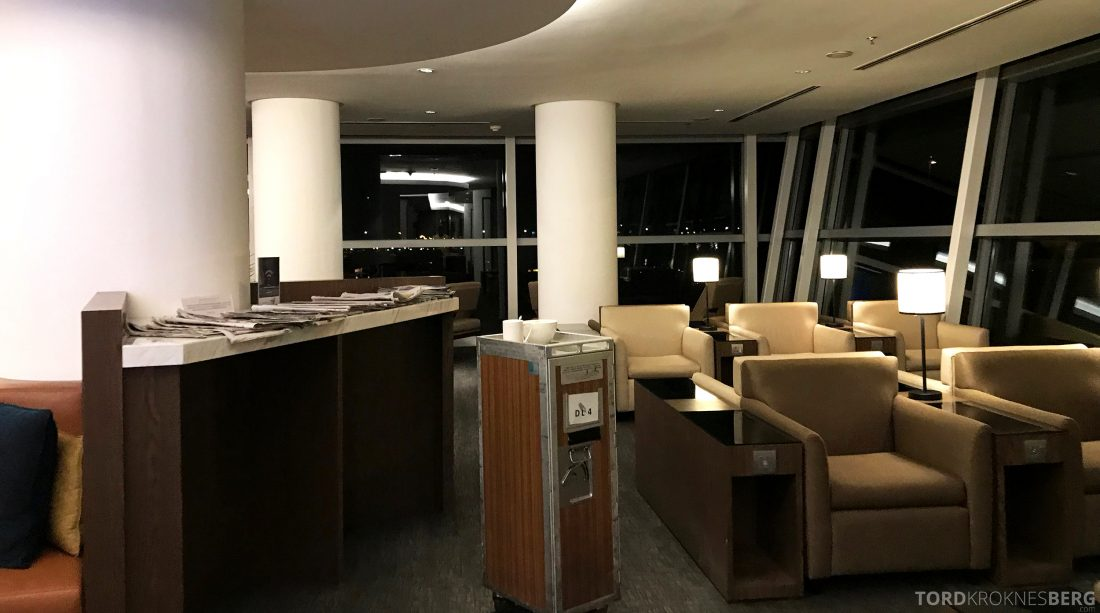 Malaysia Airlines Golden Lounge Kuala Lumpur sofaer