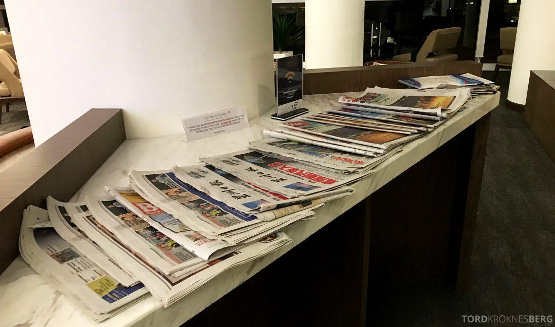 Malaysia Airlines Golden Lounge Kuala Lumpur aviser