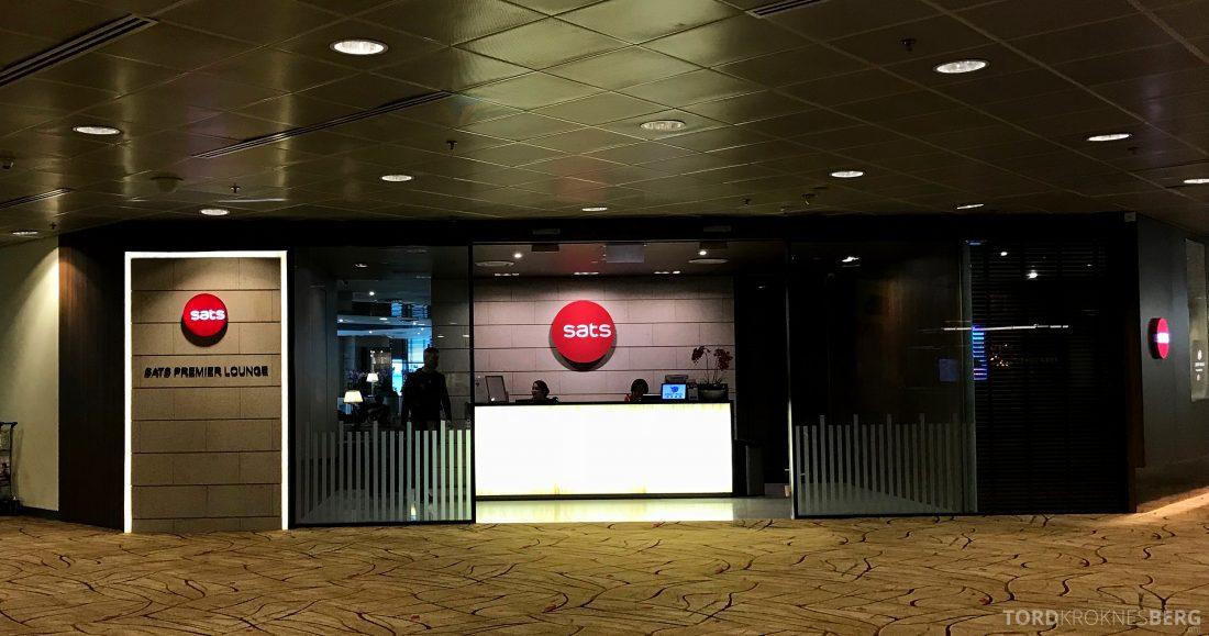 SATS Premier Lounge Changi Singapore inngang
