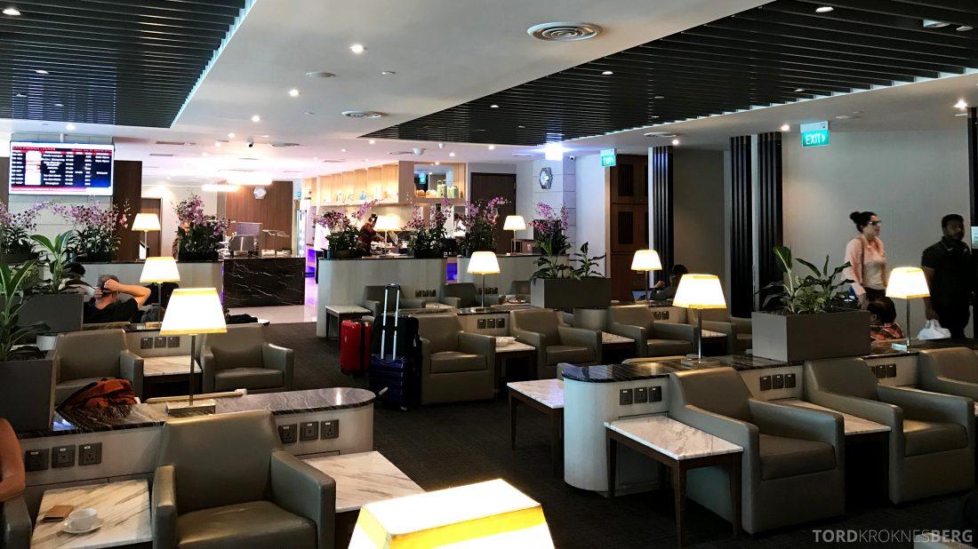 SATS Premier Lounge Changi Singapore oversikt
