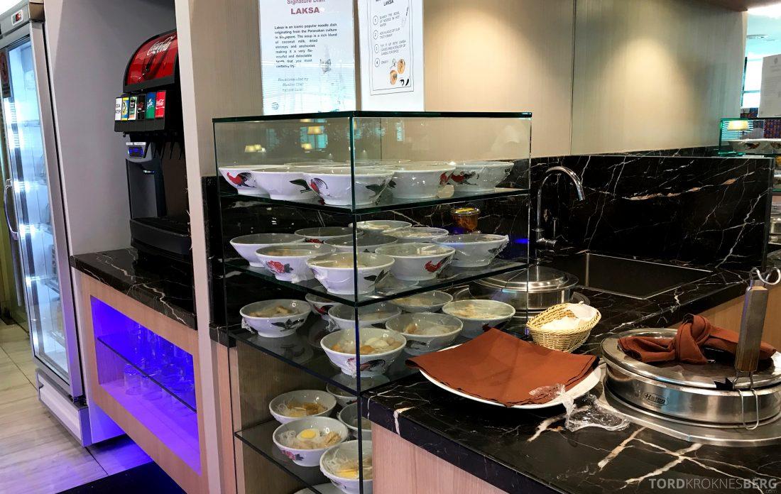 SATS Premier Lounge Changi Singapore nudler