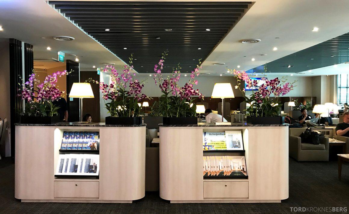 SATS Premier Lounge Changi Singapore omgivelser
