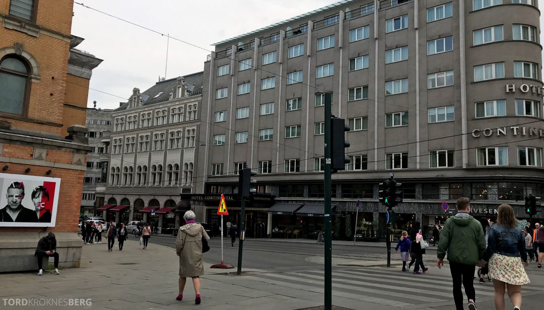 Hotel Continental Oslo fasade