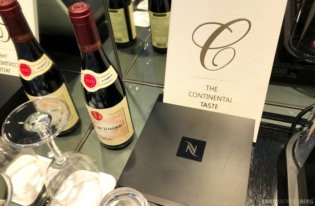 Hotel Continental Oslo room service meny