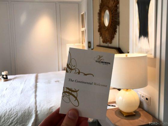 Hotel Continental Oslo nøkkelkort