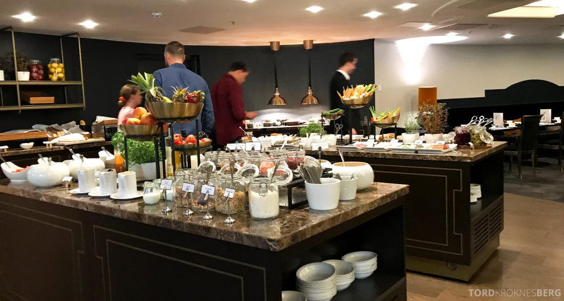 Hotel Continental Oslo frokostbuffet
