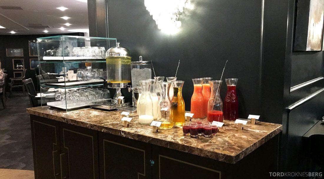 Hotel Continental Oslo juice frokost