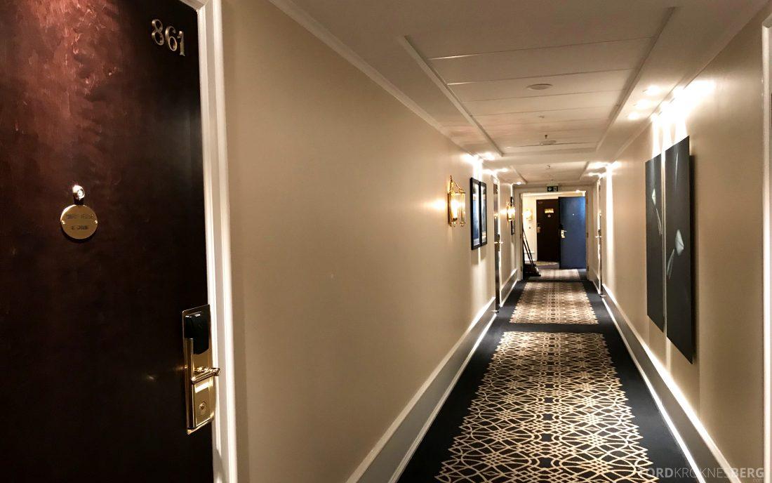 Hotel Continental Oslo korridor
