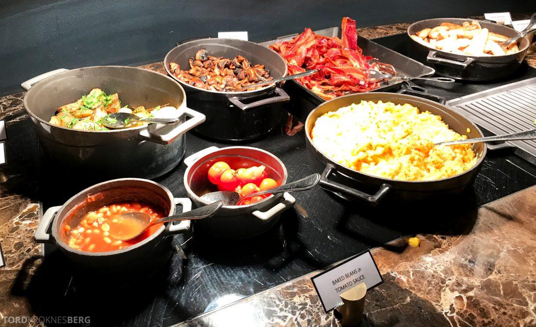 Hotel Continental Oslo varmmat frokost