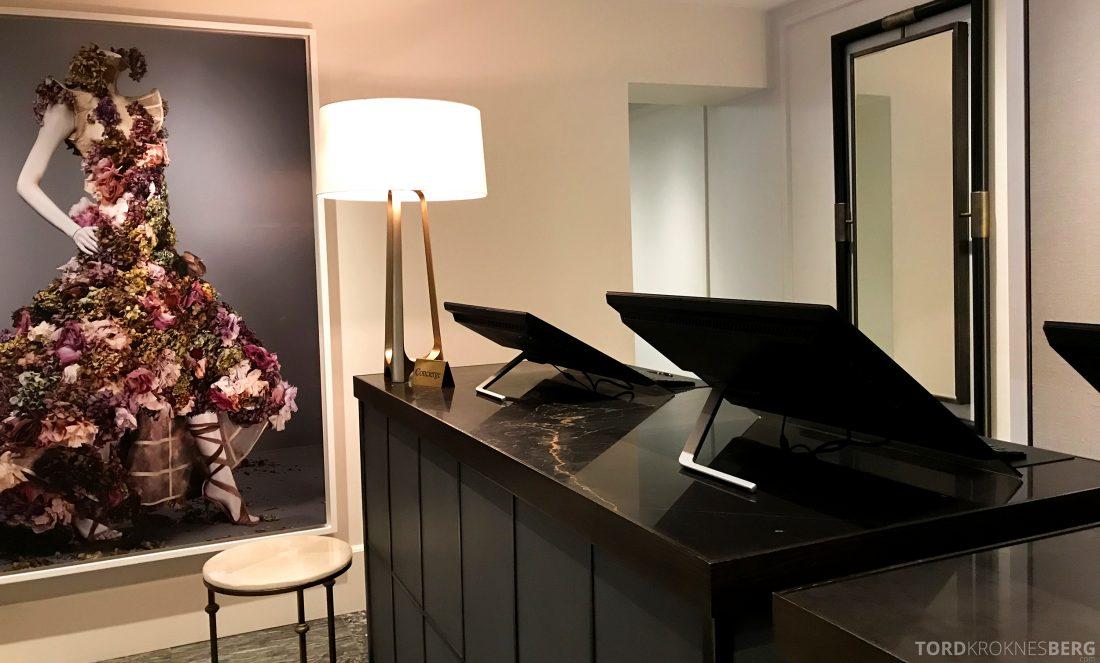 Hotel Continental Oslo resepsjon