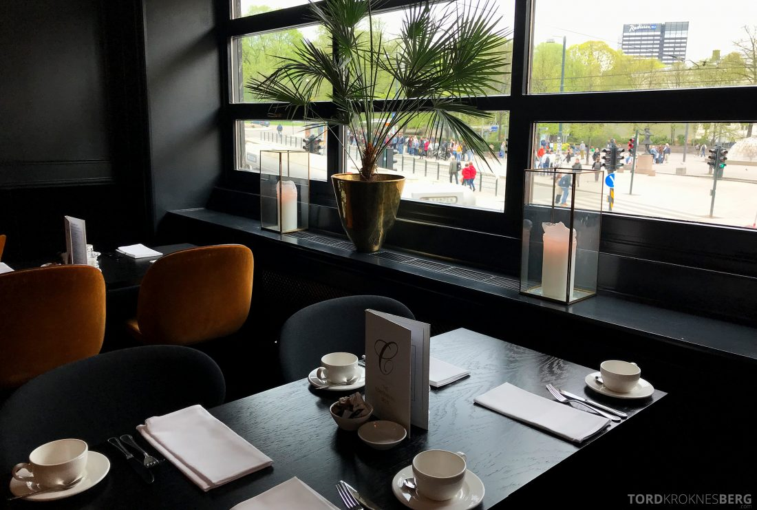 Hotel Continental Oslo frokostbord