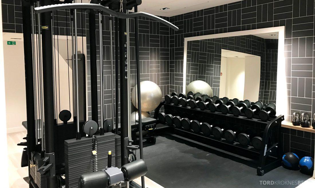 Hotel Continental Oslo vekter gym