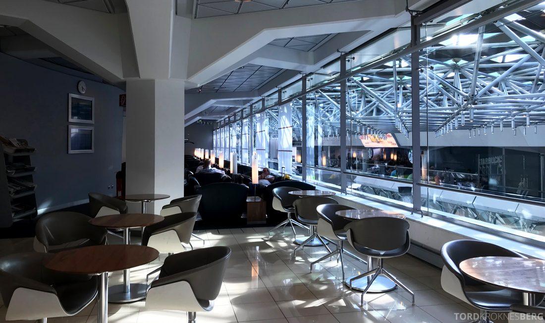 Lufthansa Senator Lounge Berlin sitteplasser