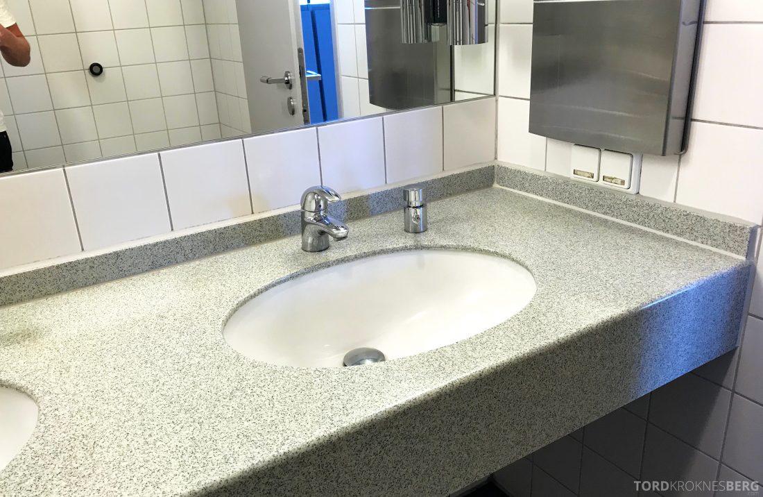Lufthansa Senator Lounge Berlin toalett