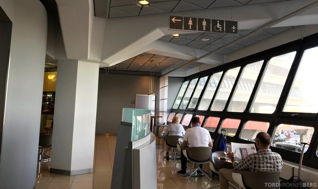 Lufthansa Senator Lounge Berlin omgivelser