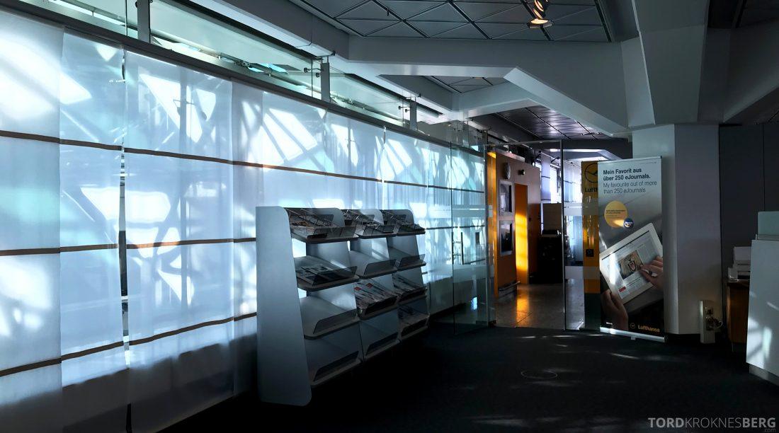 Lufthansa Senator Lounge Berlin avishyllen