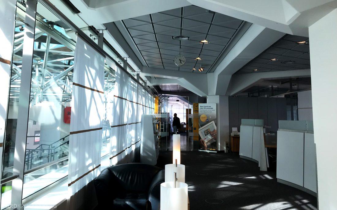 Lufthansa Senator Lounge Berlin inngang