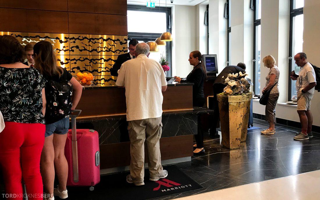 Marriott Berlin Hotel innsjekk