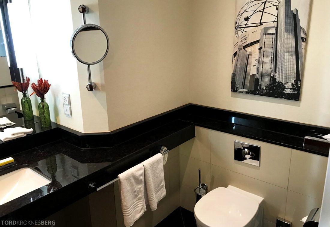 Marriott Berlin Hotel toalett