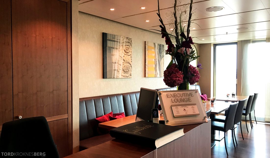 Marriott Berlin Hotel Executive Lounge resepsjon