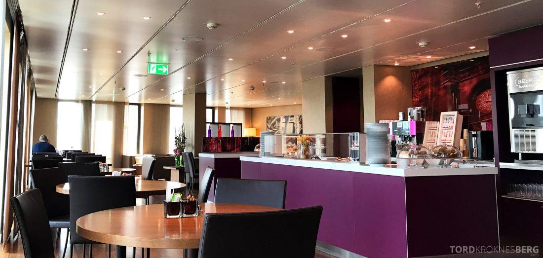 Marriott Berlin Hotel Executive Lounge oversikt