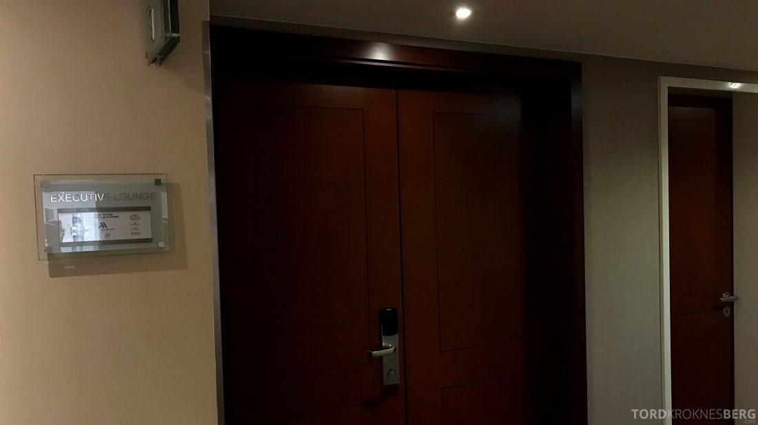 Marriott Berlin Hotel Executive Lounge inngang