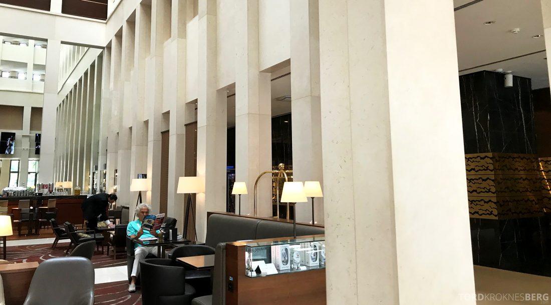 Marriott Berlin Hotel lobby