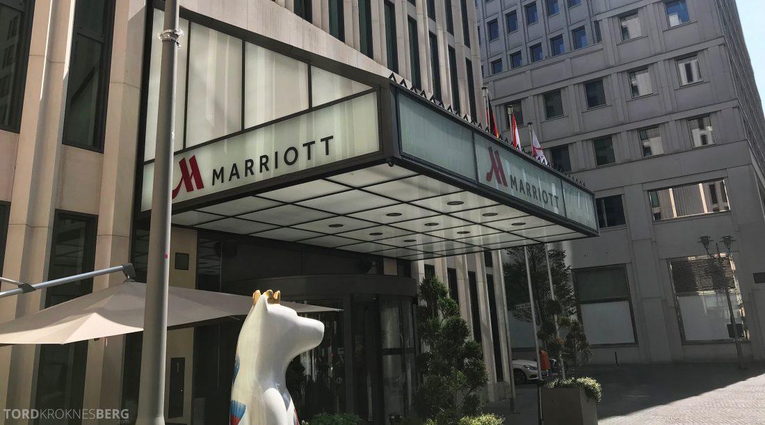 Marriott Berlin Hotel fasade