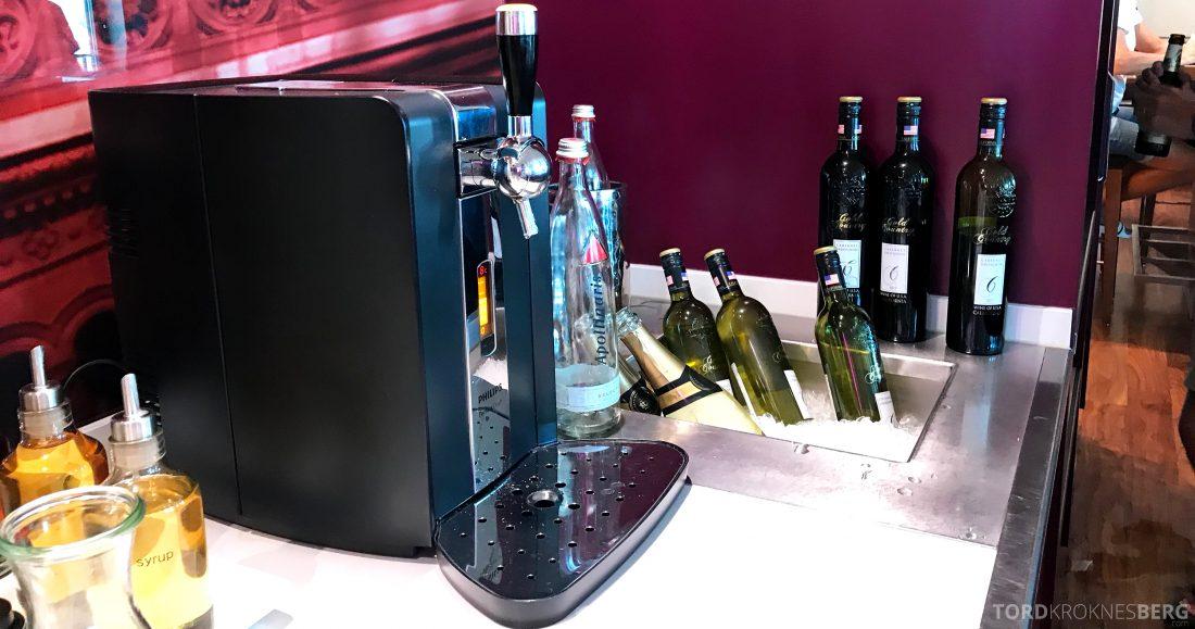 Marriott Berlin Hotel Executive Lounge hors d'oeuvre drikke