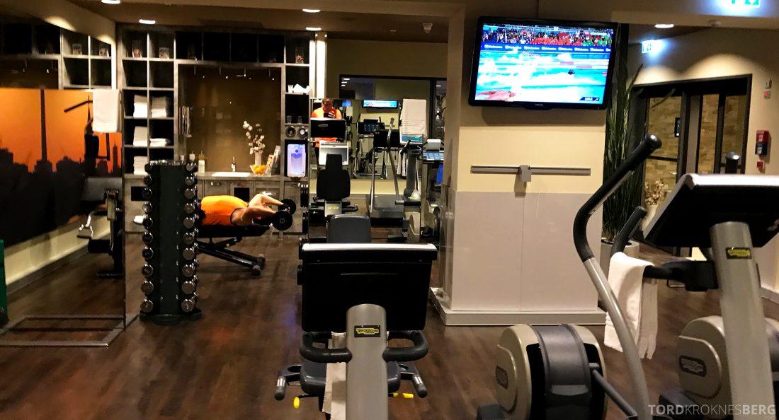 Marriott Berlin Hotel gym