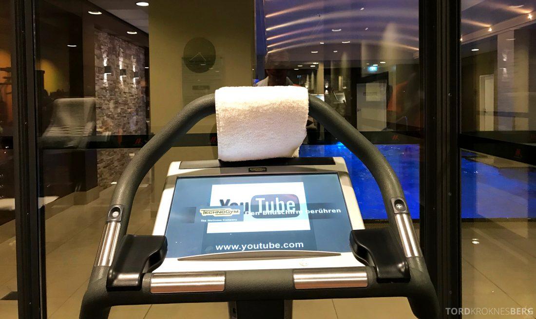 Marriott Berlin Hotel gym basseng