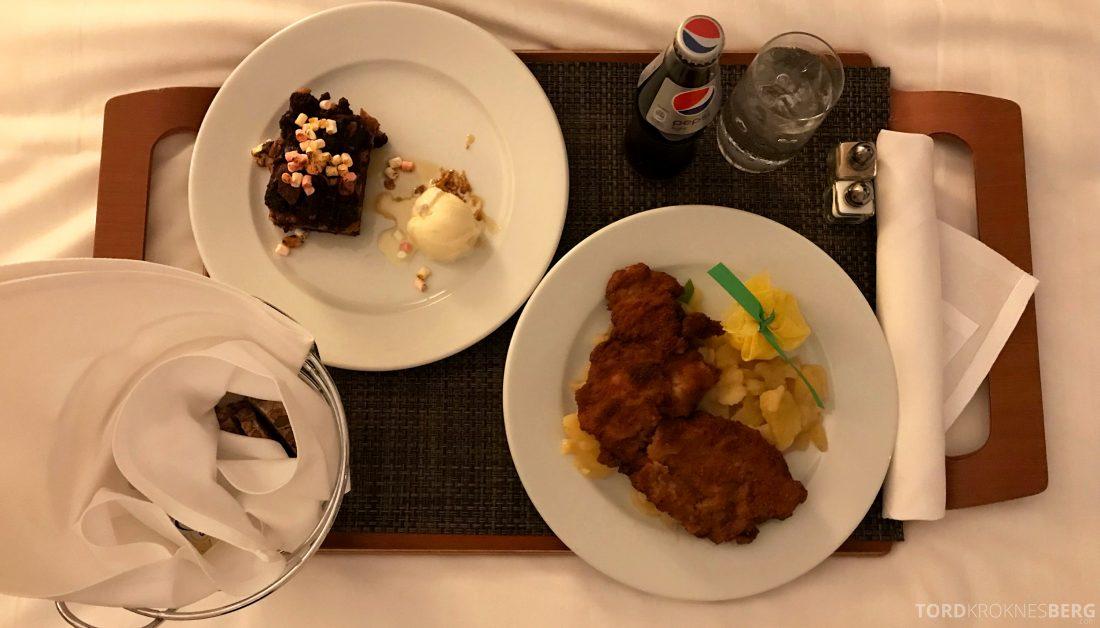 Marriott Berlin Hotel room service