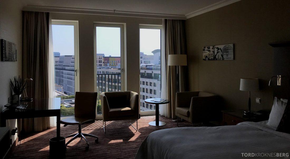 Marriott Berlin Hotel værelse