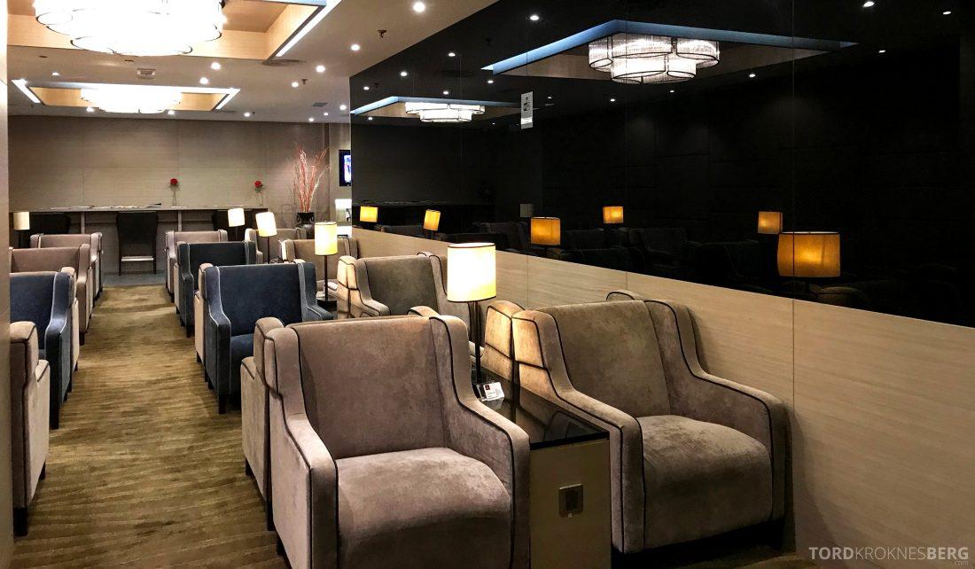 Plaza Premium Lounge Penang stoler