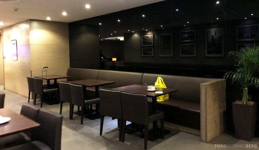 Plaza Premium Lounge Penang spisebord