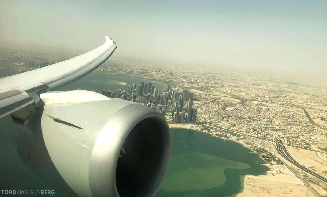 Qatar Airways Business Class Oslo Doha Penang Doha
