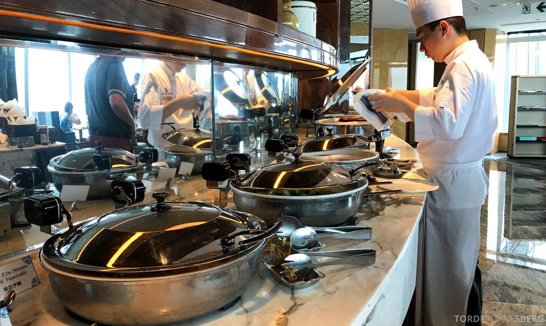 Ritz-Carlton Hong Kong Club Lounge kokk