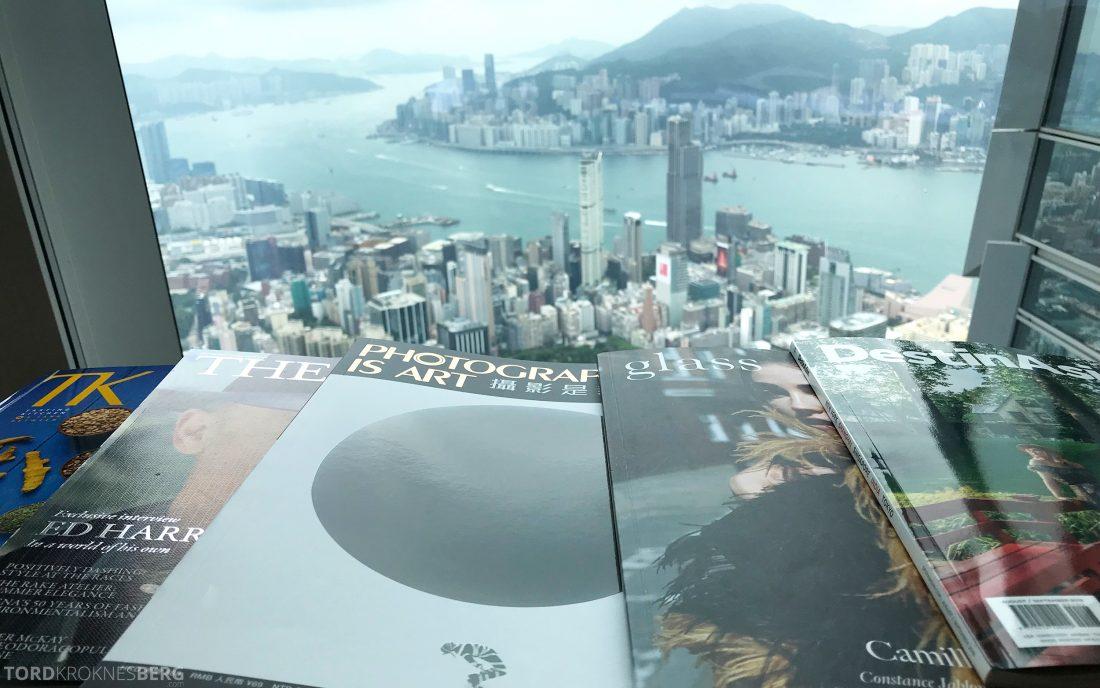 Ritz-Carlton Hong Kong Club Lounge magasiner