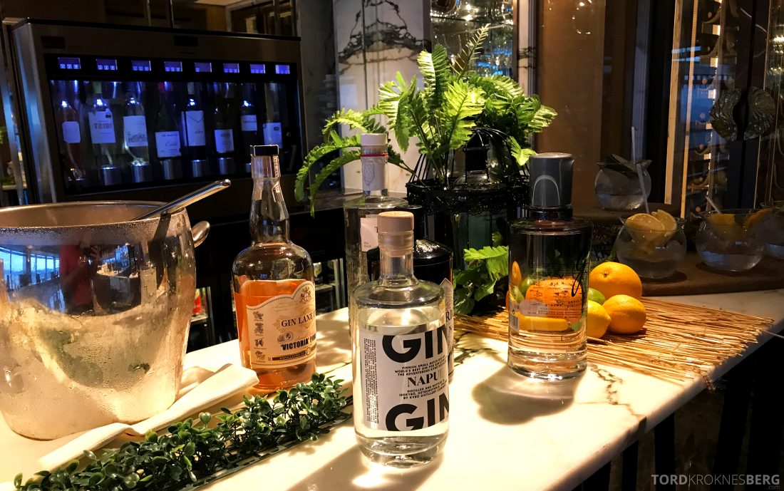Ritz-Carlton Hong Kong Club Lounge alkohol