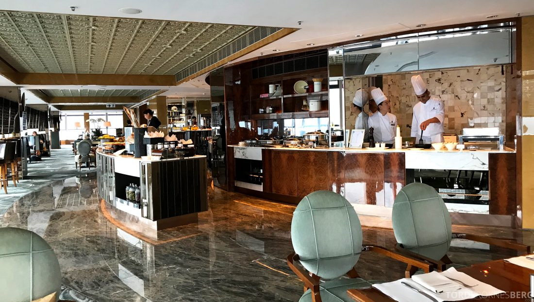 Ritz-Carlton Hong Kong Club Lounge oversikt