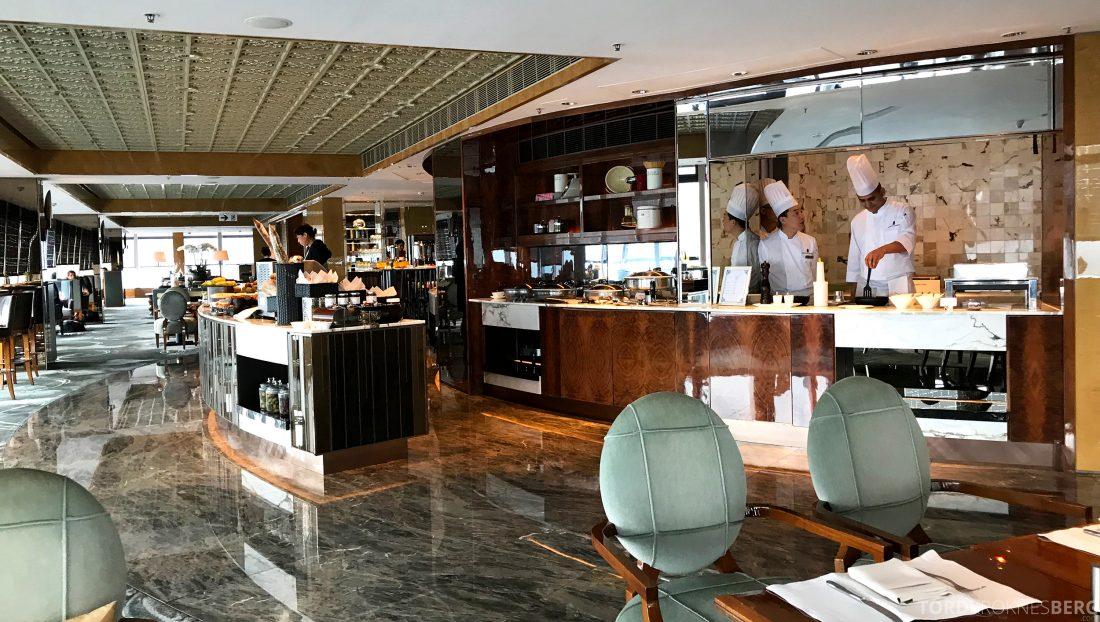 Ritz-Carlton Hong Kong Club Lounge oversikt