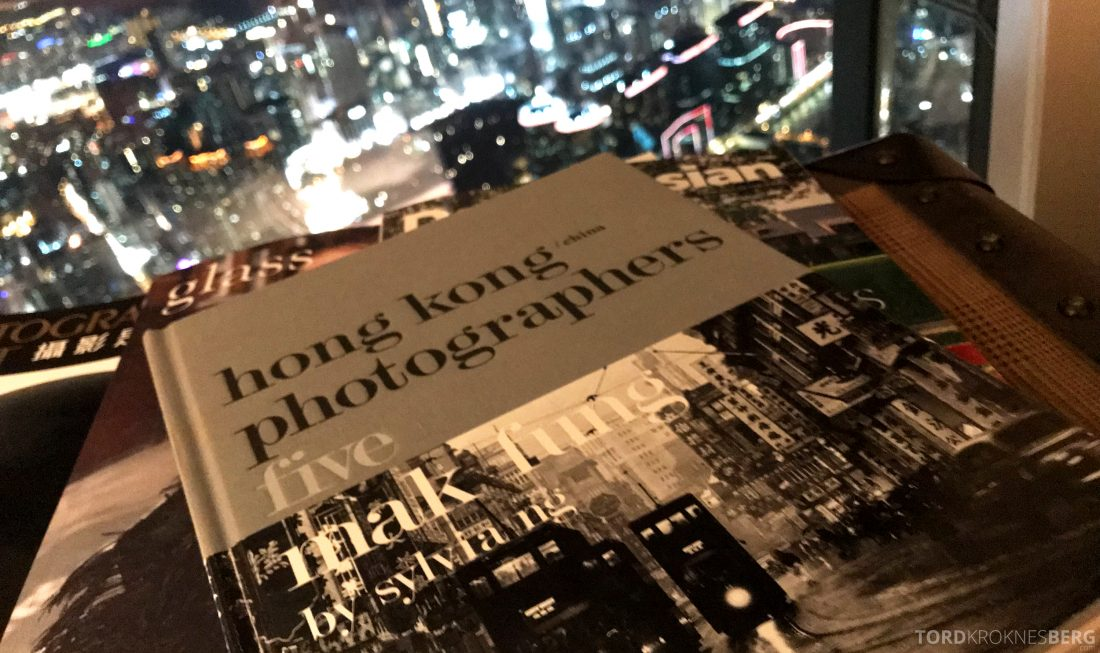 Ritz-Carlton Hong Kong Club Lounge utsikt natt