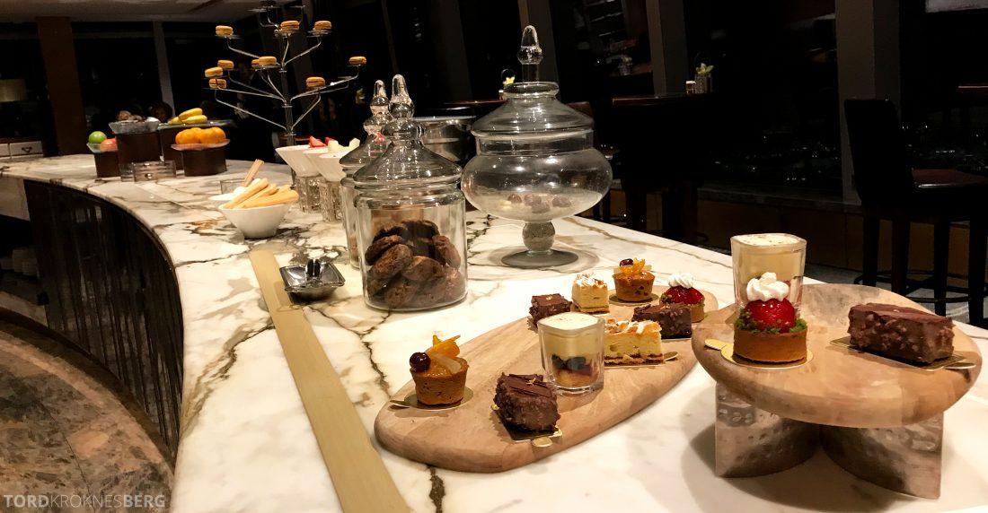 Ritz-Carlton Hong Kong Club Lounge dessert